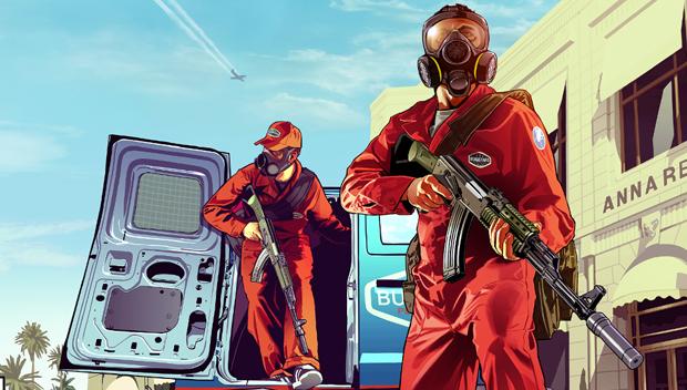 Grand Theft Auto V chega em Setembro