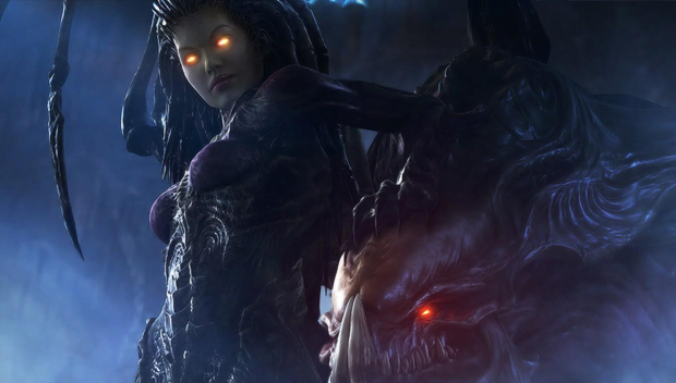 opening cinematic de starcraft 2 - heart of the swarm