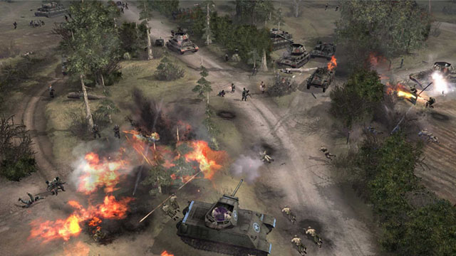 servidores do company of heroes