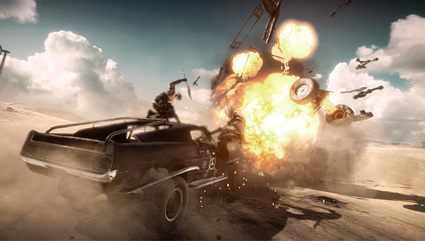 trailer com gameplay de Mad Max