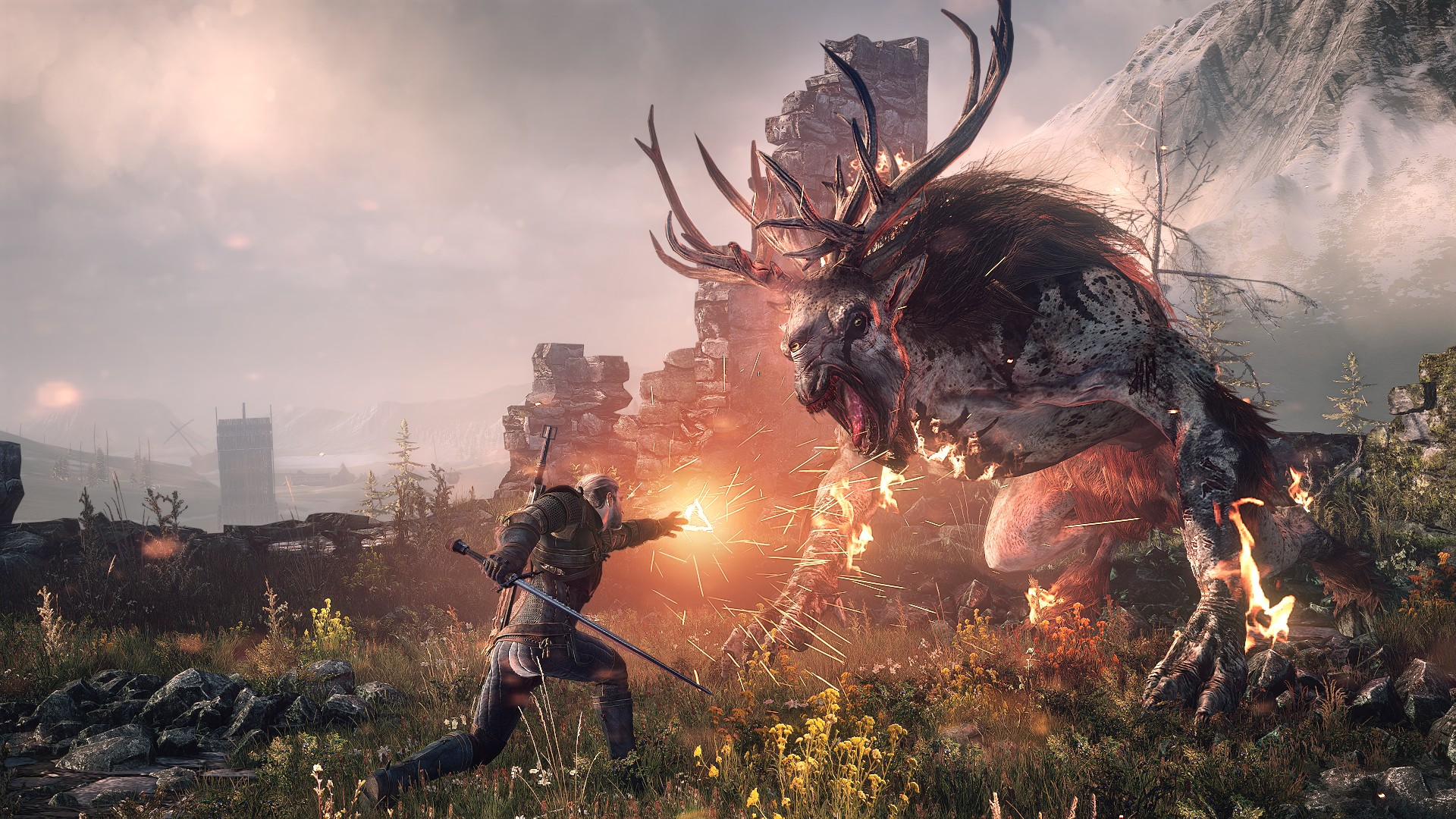 trailer de The Witcher 3