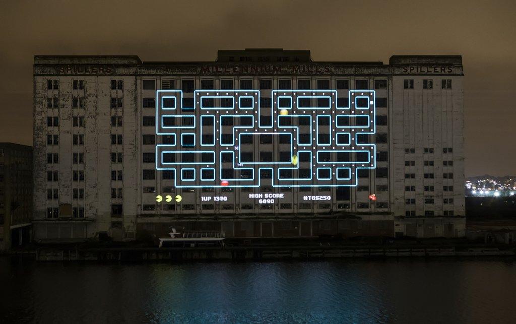 maior Pacman do mundo