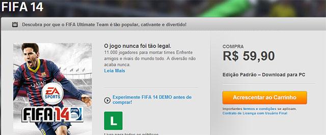 PES 2014 no Steam