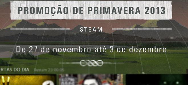 Promoção de primavera do Steam