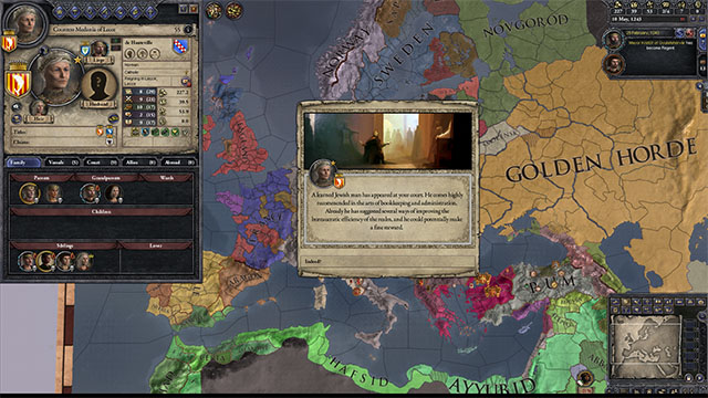 Crusader Kings  Cat Event