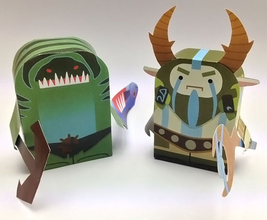 Papercraft do Tidehunter