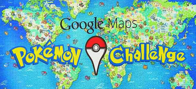 Pokémon no Google Maps