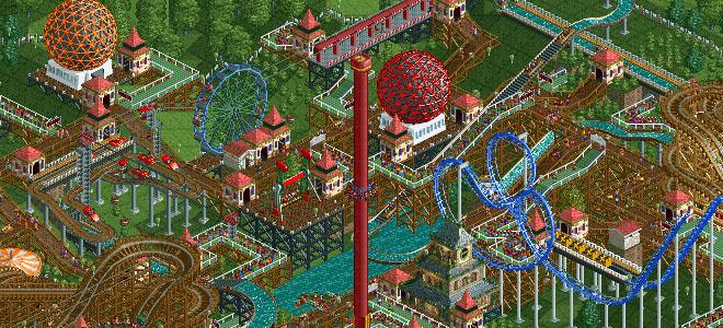 Nova versão de Rollercoaster Tycoon