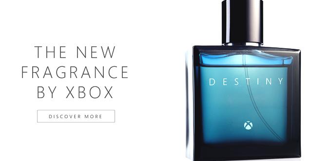 Microsoft promove Destiny para Xbox com perfume fictício