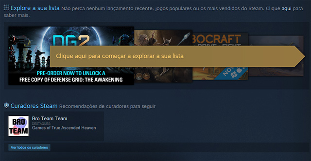 nova loja do steam