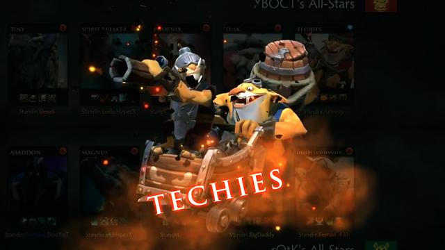 Techies está disponível no Dota 2