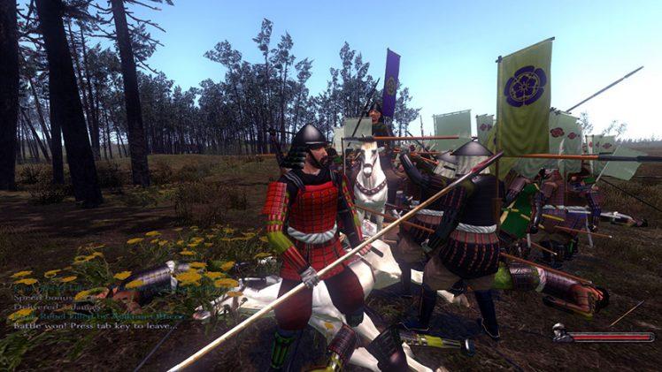 Faça jornada pelo Japão feudal em mod para Mount & Blade