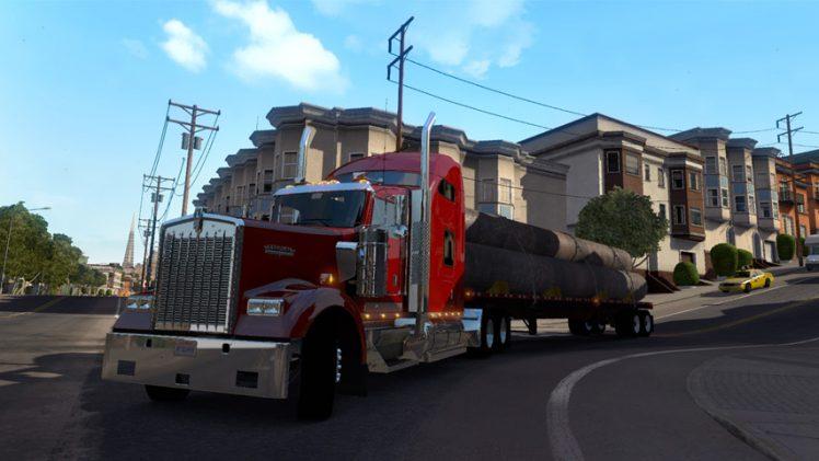 American Truck Simulator recebe primeiro vídeo de gameplay