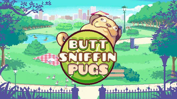 Cheire o traseiro de cachorros em Butt Sniffin Pugs