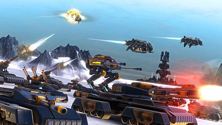 Trailer de lançamento de Etherium mostra batalhas futuristas