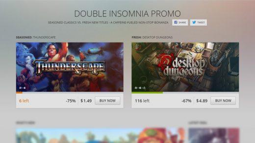 Promoção no GOG oferece até 90% de desconto em games