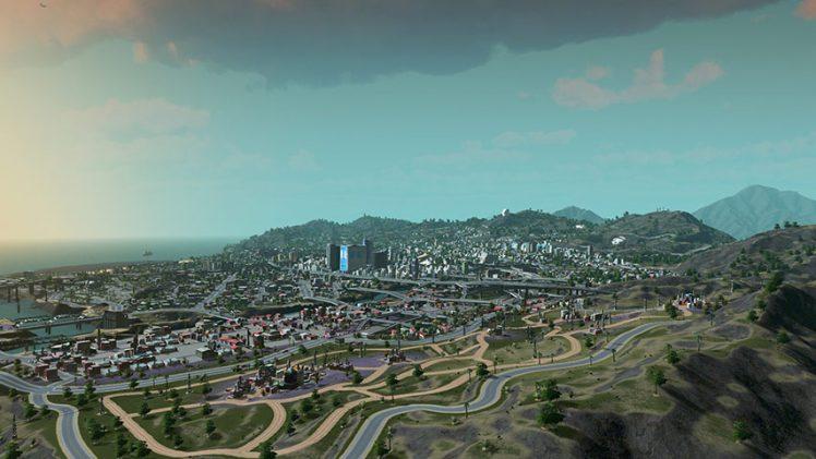Los Santos de GTA V é recriada em Cities: Skylines