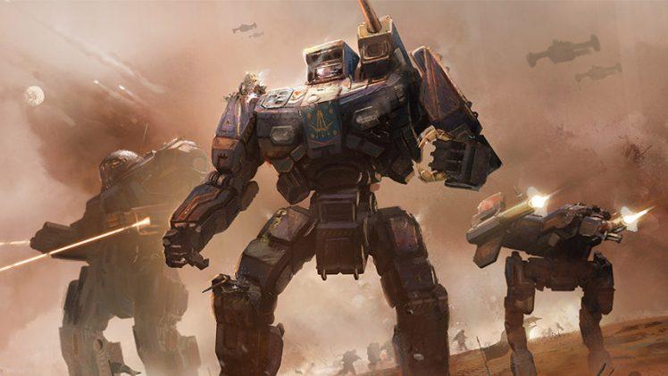 Harebrained Schemes inicia campanha no Kickstarter para Battletech