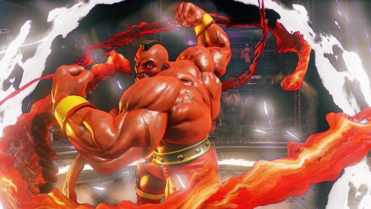Zangief estará presente em Street Fighter V