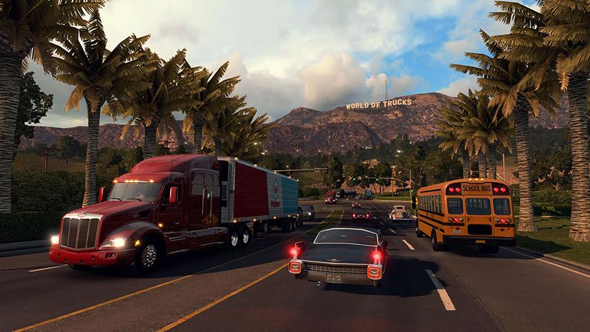 """""""American Truck Simulator"""" é lançado com um dia de antecedência"""
