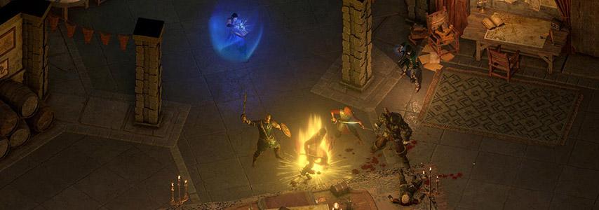 Atualização 5.0 para Pillars of Eternity culmina no lançamento da versão final do modo em turnos, novas linhas de diálogo e um novo desafio.