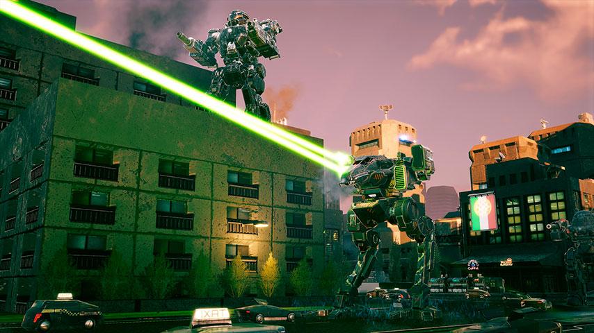 Análise – BattleTech: Urban Warfare