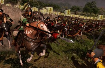 Ataque de cavalaria em Eight Princes