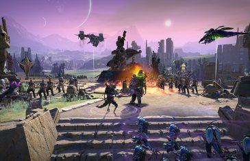 Batalha tática em Age of Wonders: Planetfall