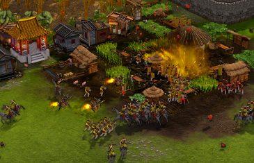 Ataque a vilarejo em Stronghold: Warlords