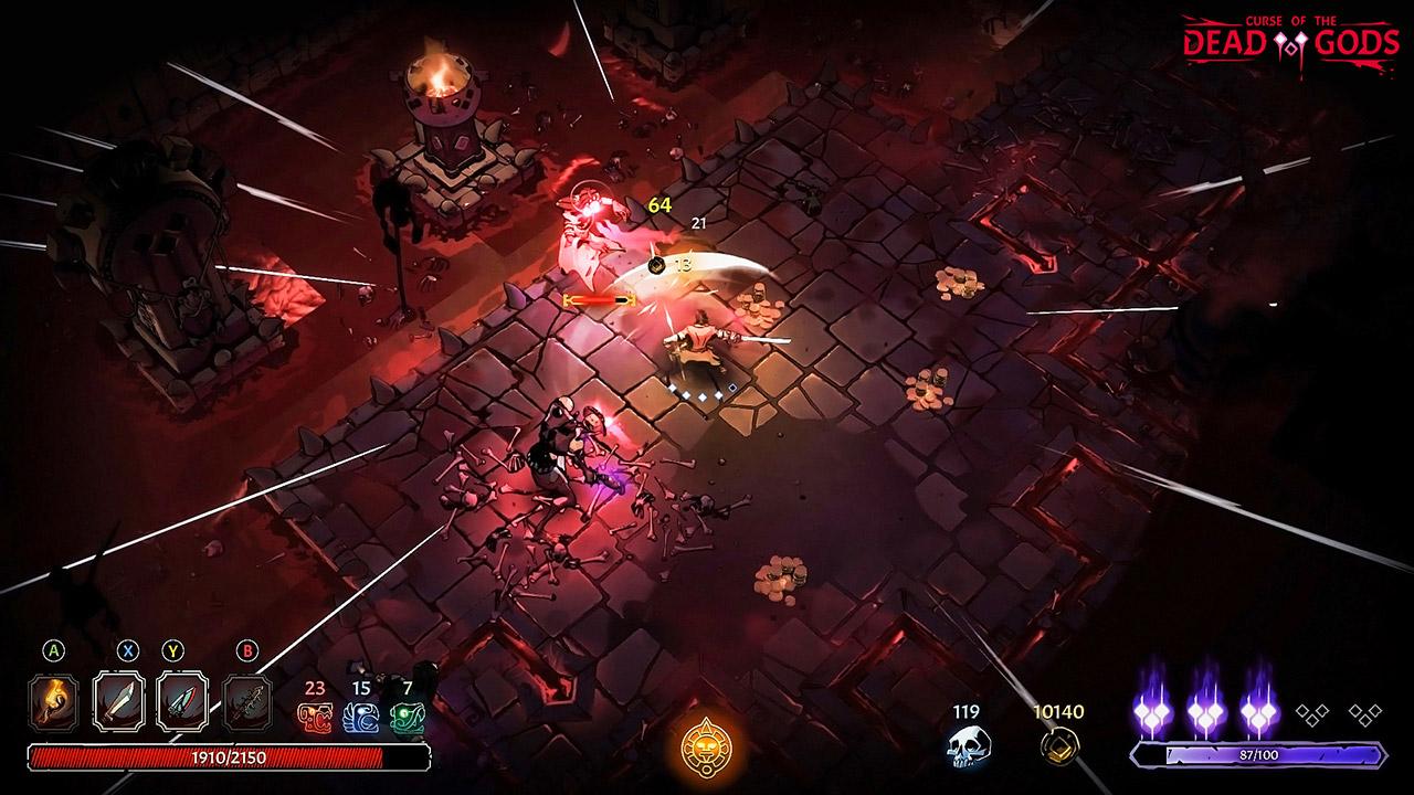 Roguelite Curse of the Dead Gods entra em acesso antecipado | Hu3br