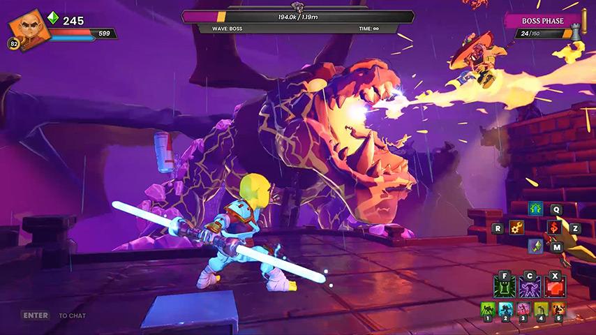 jogar Dungeon Defenders Awakened