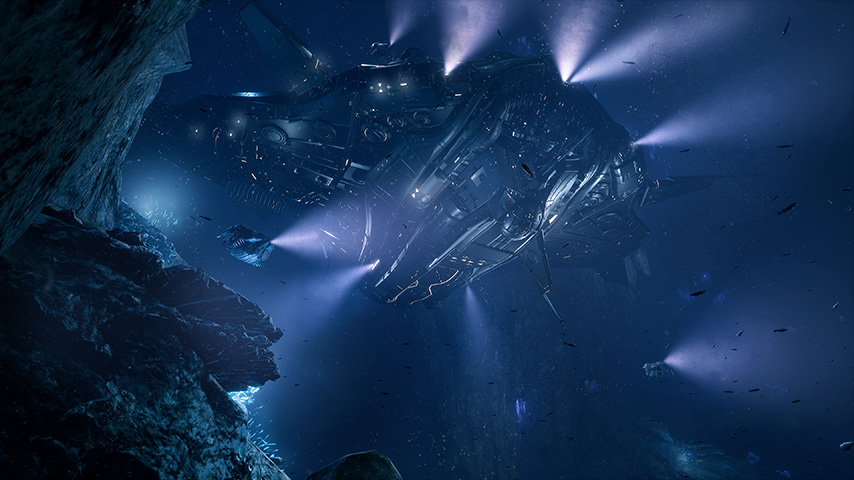 Primeiras Impressões – Aquanox Deep Descent