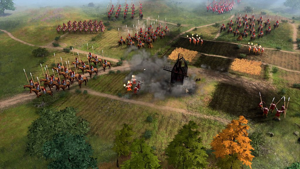 Gameplay de Age of Empires IV